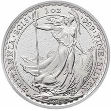 2015 1oz Britannia Silver Coin