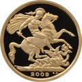 2009 £2 Two Pound Proof Gold Coin (Double Sovereign)