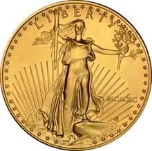 1990 1oz American Eagle Gold Coin MCMXC