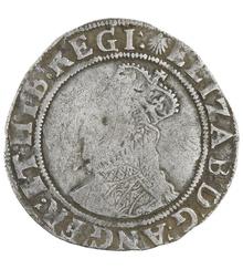 Elizabeth I Shilling - Near Fine
