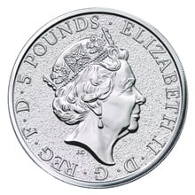 2oz Silver Coin, The Griffin - Queen's Beast