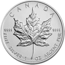 2007 1oz Canadian Maple Silver Coin