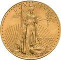 2002 1oz American Eagle Gold Coin
