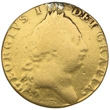 1788 George III Gold Guinea - Good