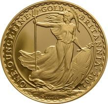 2002 Proof Britannia Gold 4-Coin Set Boxed