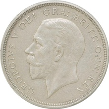 1933 George V Proof Crown (Christmas Crown) - Good Very Fine