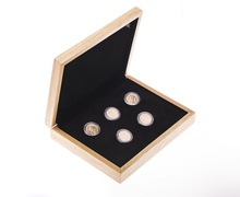 Five 2018 Sovereign Gold Coins Gift Boxed