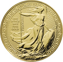 2018 1oz Gold Britannia (Oriental Border) Coin