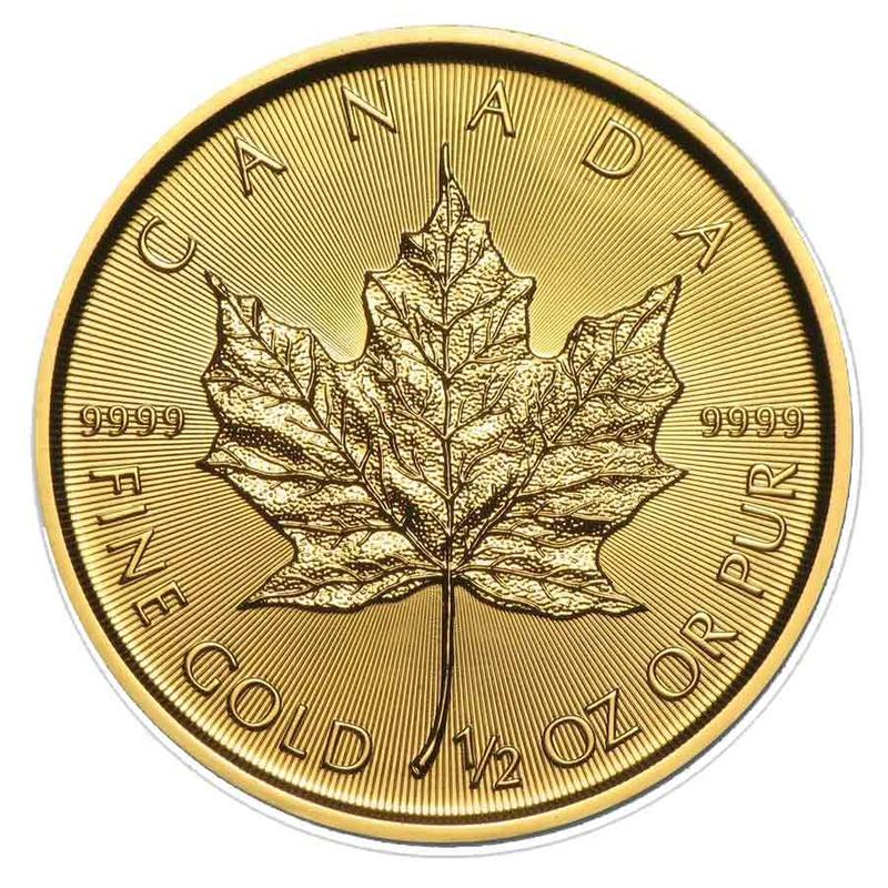 2016 Half Ounce Gold Maple