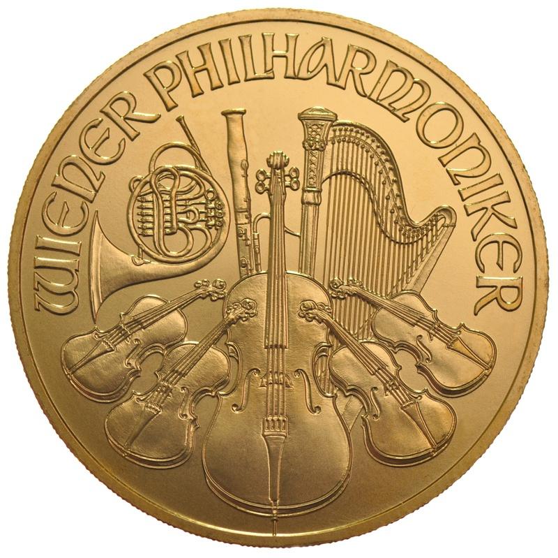 1oz Austrian Gold Philharmonic Coin Best Value
