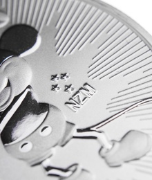 2017 Steamboat Willie 1oz Silver Coin Gift Boxed