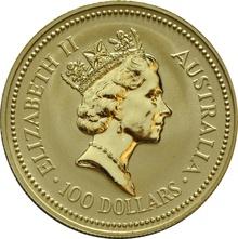 1993 1oz Gold Australian Nugget