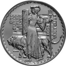 2001 1oz Silver Britannia Coin