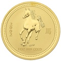 2002 1oz Gold Australian Year of the Horse