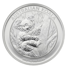 2013 1oz Silver Australian Koala