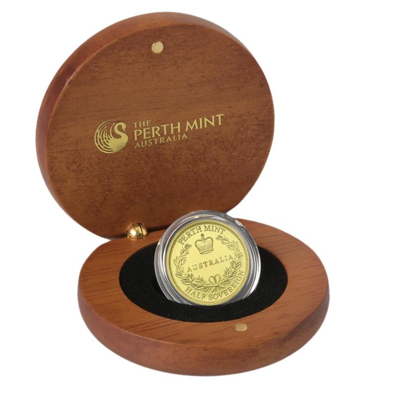 2016 Australian Gold Proof Half Sovereign Boxed