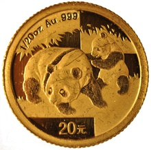 Twentieth Ounce Gold Chinese Panda Best Value