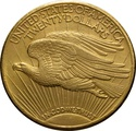 1929 $20 Double Eagle St Gaudens Head Gold Coin Philadelphia