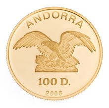 Andorra 100 Diner One Ounce Gold Coin