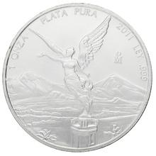 2011 1oz Mexican Libertad Silver Coin