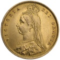 Half Sovereign Victoria Jubilee Head 1887 - 1893