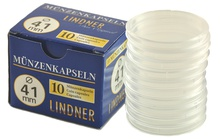 Lindner 41mm 1oz Silver Coin Capsules (10 Box)