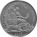 2007 1oz Silver Britannia Coin