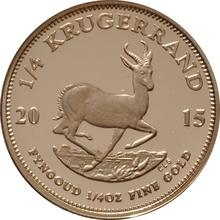 2015 1/4oz Gold Proof Krugerrand - Boxed