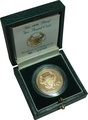 1986 £2 Two Pound Proof Gold Coin: Commonwealth Games Boxed