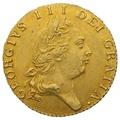 1791 George III Half Guinea Gold Coin