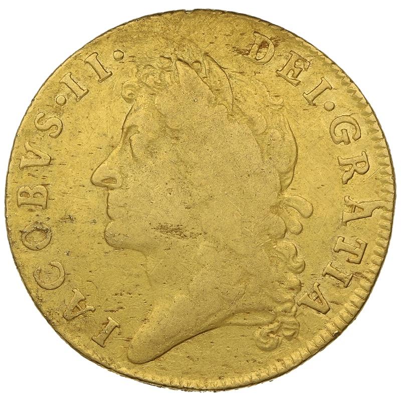 1685 James II Gold Guinea