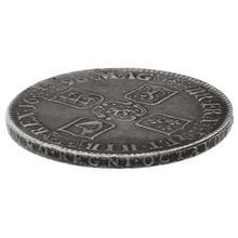 "1696 William III Silver Crown ""OCTAVO"" - Very Fine"