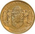 Gold Hungarian 100 Koronas