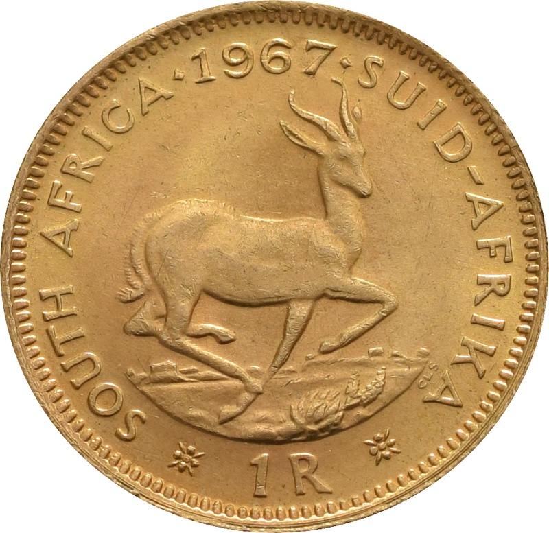 1R 1 Rand coin South Africa