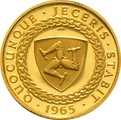 23.5ct 1965 Isle of Man Gold Sovereign Coin Bicentenary of the Revestment Act