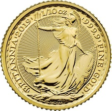 2019 Tenth Ounce Gold Britannia Gift Boxed