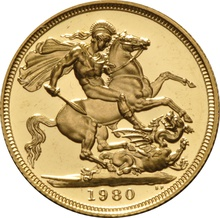 Proof Gold Sovereign - Grade B