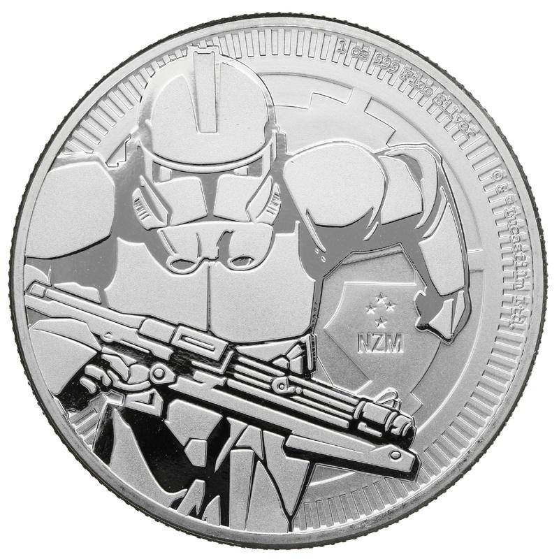 2019 Star Wars™ 1oz Silver Clone Trooper Coin