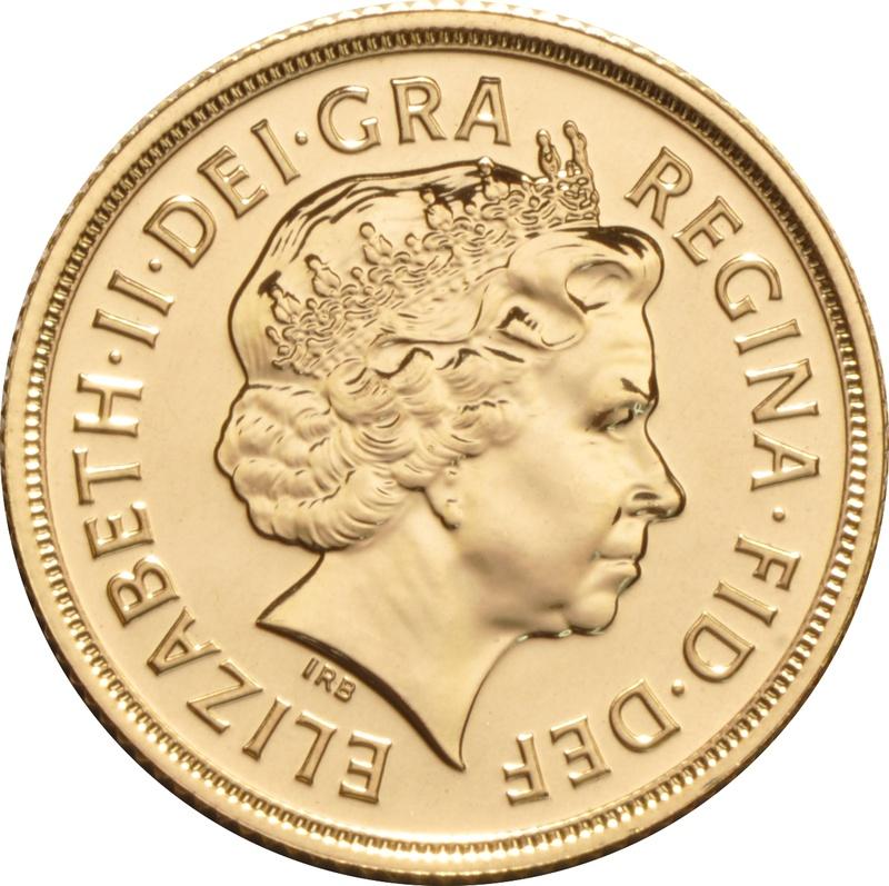 Sovereign - Elizabeth II, Fourth Head