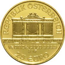 2017 Quarter Ounce Gold Austrian Philharmonic
