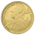 2015 Quarter Ounce Proof Britannia Gold Coin