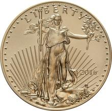 2016 Half Ounce Eagle Gold Coin