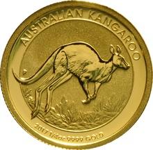 2017 Quarter Ounce Gold Australian Nugget