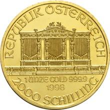 1998 1oz Austrian Gold Philharmonic Coin