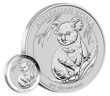2019 1kg Silver Australian Koala
