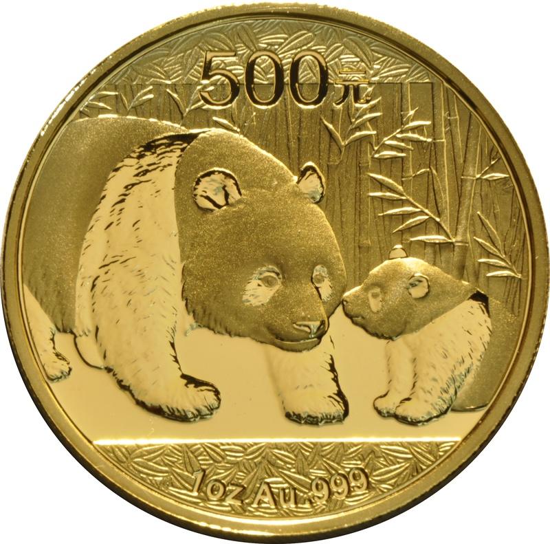 2011 1oz Gold Chinese Panda Coin