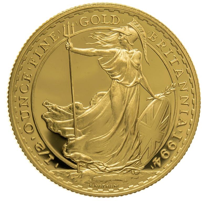 1994 Half Ounce Proof Britannia Gold Coin