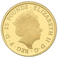 2016 Quarter Ounce Proof Britannia Gold Coin