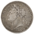 1822 George IV Crown - Fine