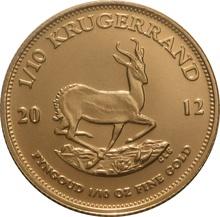 2012 Tenth Ounce Krugerrand